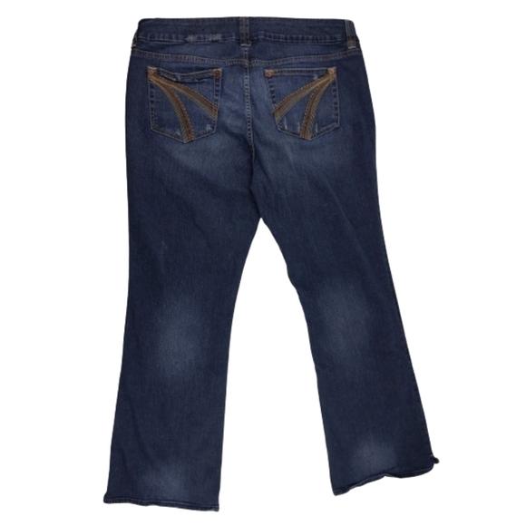 Women's Torrid Jeans Size 18 dark Bootcut